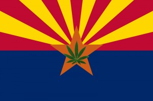 Arizona Marijuana Flag
