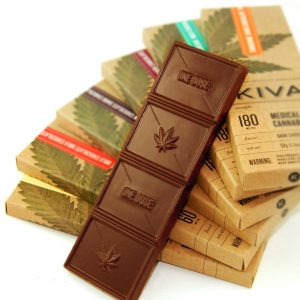 Kiva Chocolate medicinal cannabis