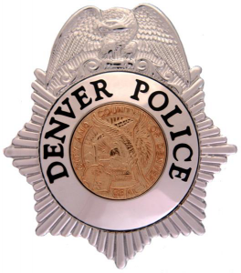 Denver Police Badge