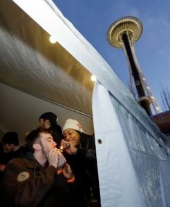 Seattle Pot Anniversary