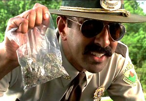 cops marijuana