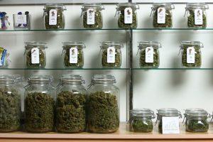 jars of weed