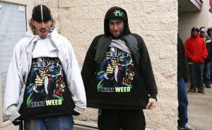 I want weed