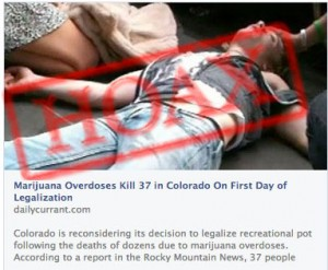 Marijuana Overdose Colorado