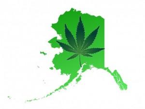 alaska state marijuana leaf