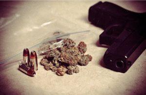 gun bullets weed