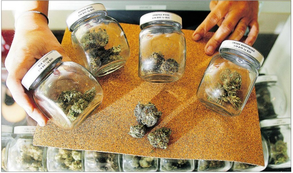 buds in jars dispensary