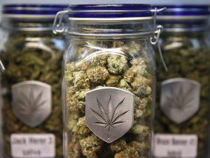 marijuana jar