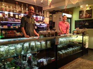 dispensary workers