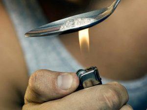 heroin spoon
