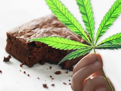 weed brownies