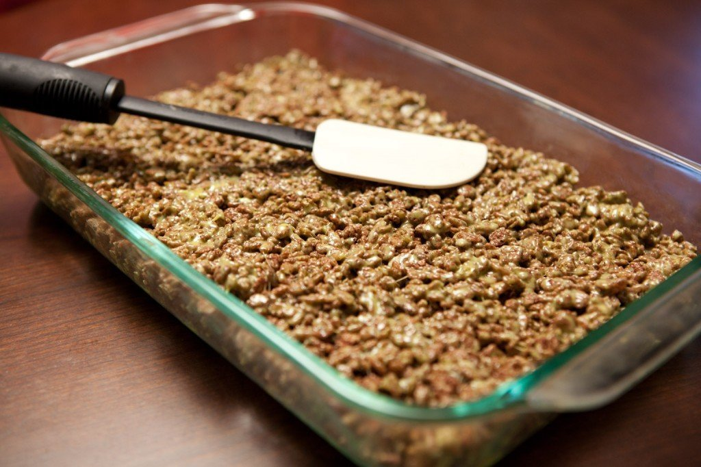 Marijuana rice krispie treats recipie