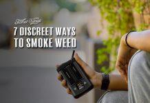 discreet ways smoke weed