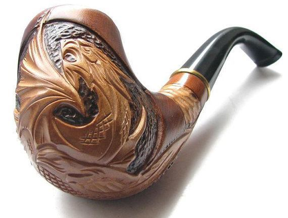 dope wood pipe