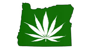 Oregon Marijuana Leaf