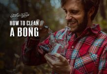 how to clean a bong