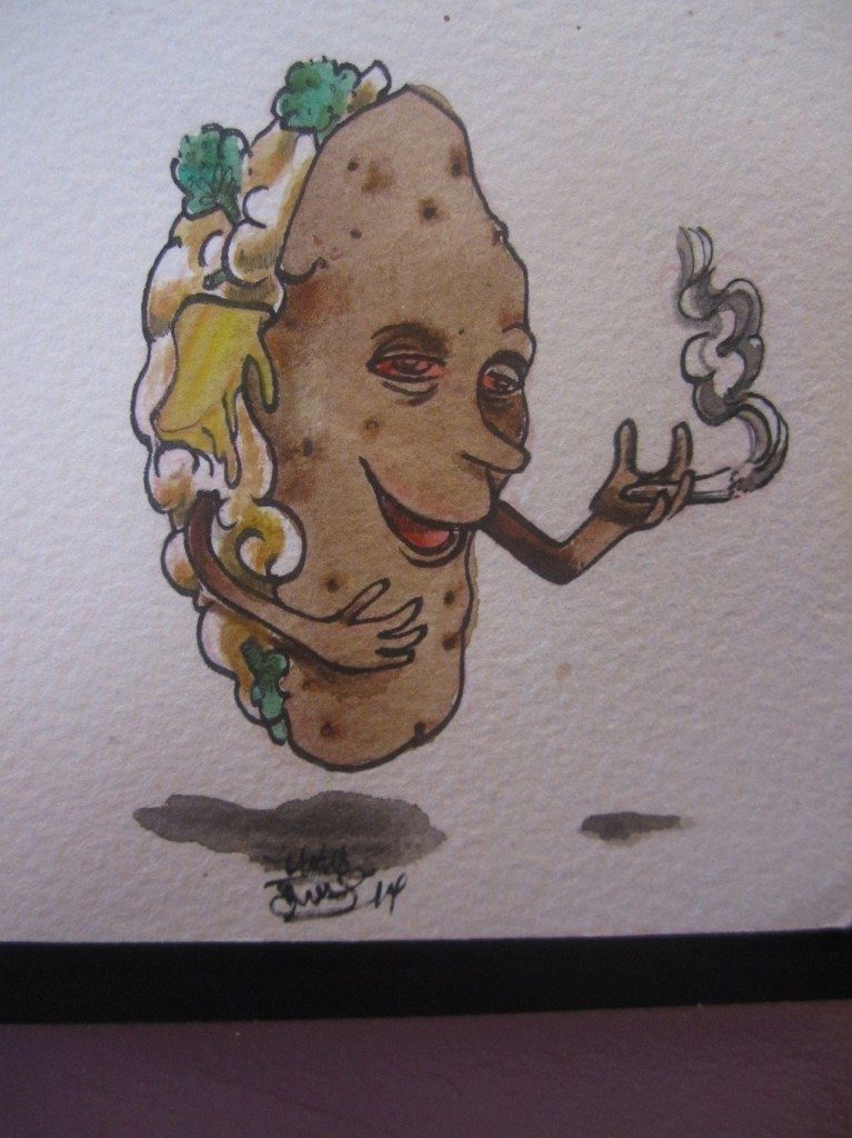 That's one BAKED POTATO.