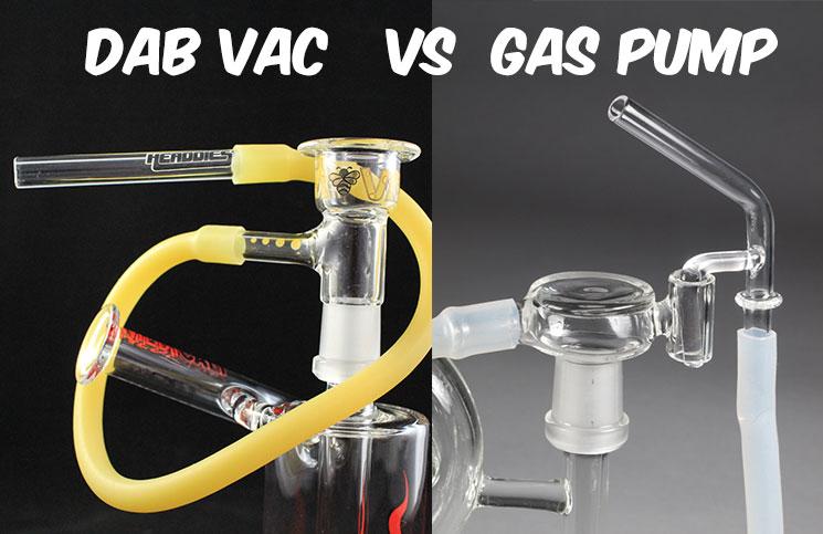 Headdies Dab Vac Review - dab-vac-vs-gas-pump