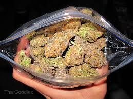 Marijuana Ziplock Bag