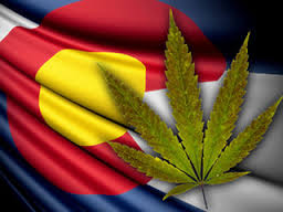 Colorado Marijuana Flag