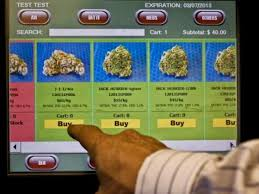 Zazzz weed vending machine