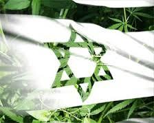Israel Marijuana Flag