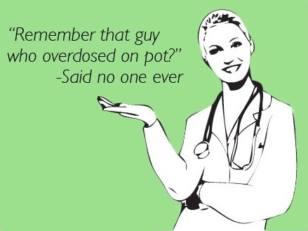 overdose on weed