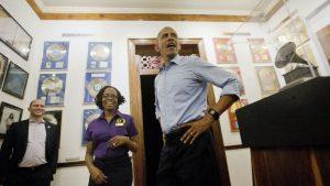 Barack Obama in Jamaica