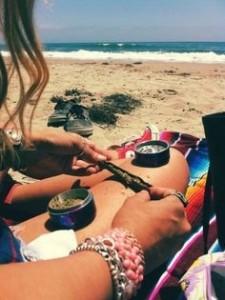 Beach Marijuana