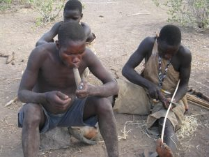 African Marijuana Smokers