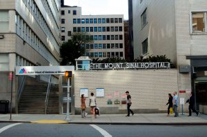 Mount Sainai Hospital, New York