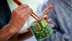Legal Marijuana Jar Dispensary