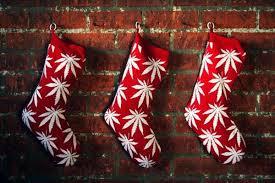 Marijuana Christmas Stockings