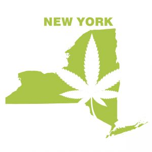 New York State Marijuana Map