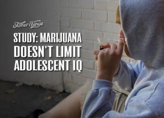 Marijuana doesn't affect IQ
