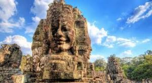 Temple in Cambodia