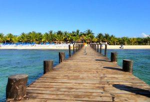 Beach in Cozumel Mexico