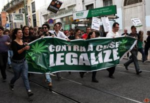 Legalization Rally, Portugal