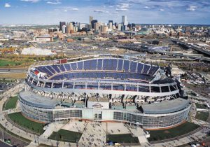 Mile High Stadium, Dnver