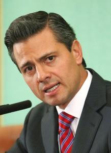 Mexican President Enrique Pena Nieto