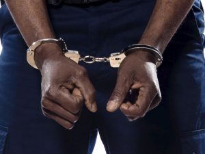 Black Man in Handcuffs