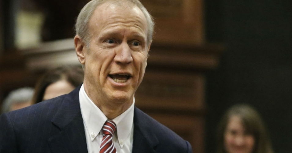 Illinois Gov. Bruce Rauner, Republican