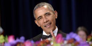 President Barack Obama, White House Correspondents' Dinner 2016
