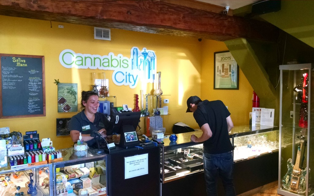 Cannabis City Seattle Dispensary