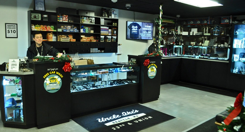 Unkle Ikes Pot Shop Seattle Dispensary
