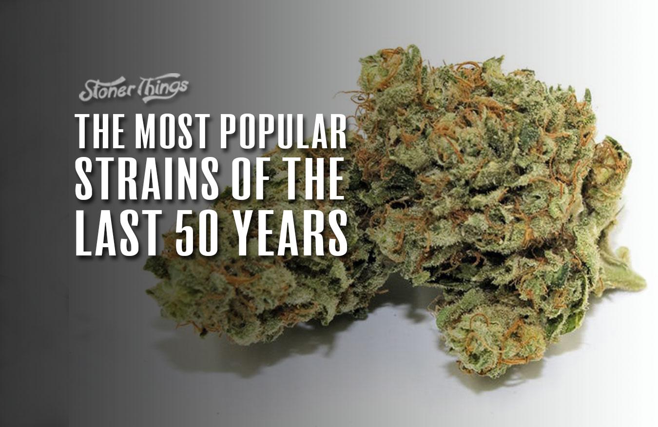 most popular strains last 50 years