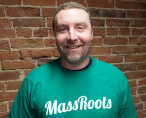 Lance Galey, chief technology officer of MassRoots