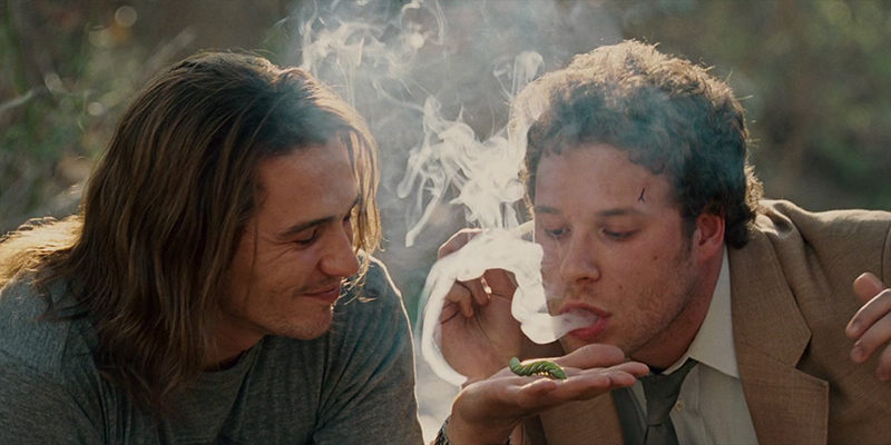 Friends smoking weed