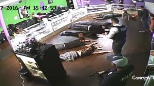Costa Mesa, Cal., police raid the Costa Mesa Collective in January 2016
