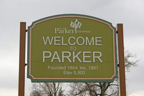 Parker Colorado Sign